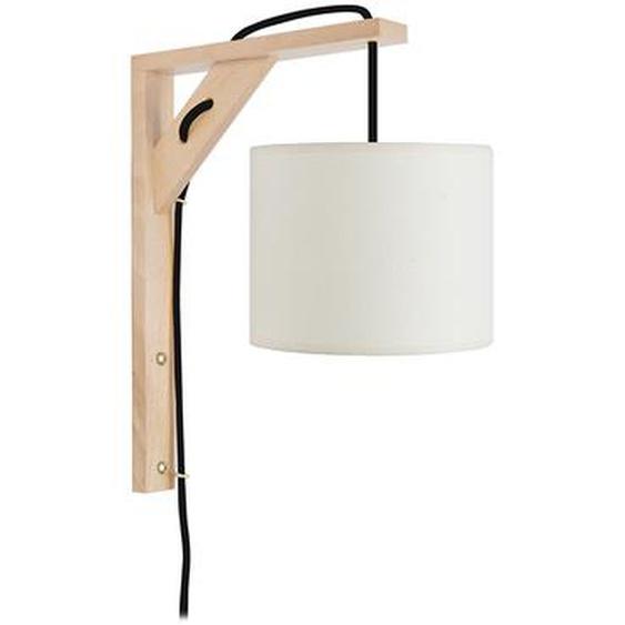Design-Wandleuchte Holz CORNER