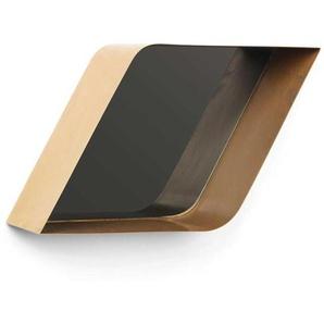 Design Wandspiegel in Goldfarben ausgefallen