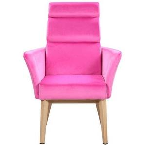Design Wohnzimmer Stuhl in Pink modern
