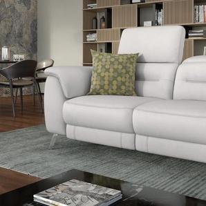 Designer 2-Sitzer GANDINO Leder Sofa Couch Relax Funktion