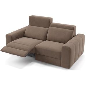 Designer Couch Capri Sofa Garnitur