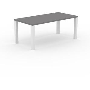 Esstisch ausziehbar massiv grau  Esstische in Grau Preisvergleich | Moebel 24