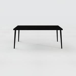 Designer Esstisch Massivholz Wenge, Holz - Individueller Designer-Massivholztisch: Einzigartiges Design - 180 x 75 x 90 cm, Modular