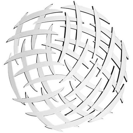 Designer Spiegel mit Glasrahmen rund