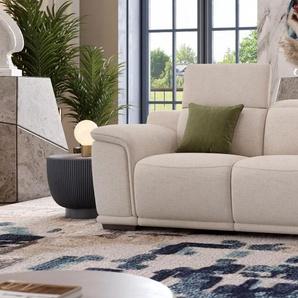 Designsofa MONTEFINO 2-Sitzer Stoffcouch Stoffsofa