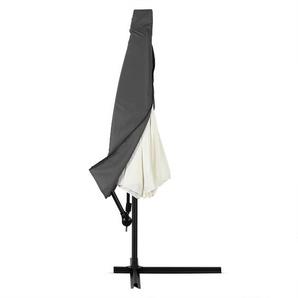 Deuba Schutzhülle Sonnenschirm für 3m Ampelschirm Anthrazit