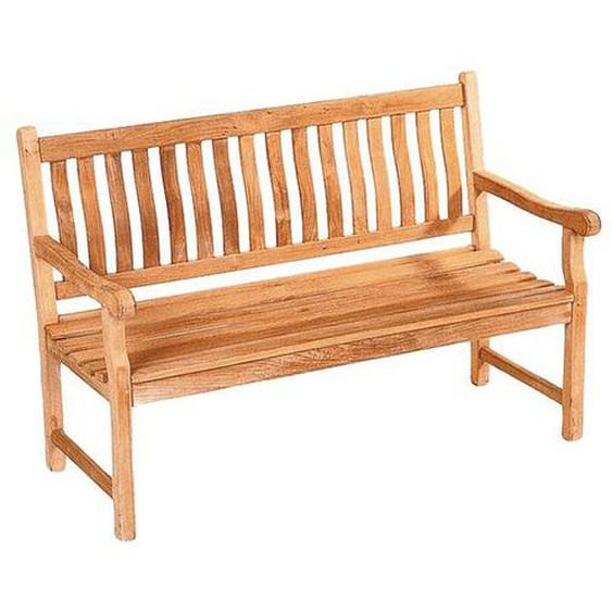 deVries Mendip 3-Sitzerbank 160cm Teak Braun