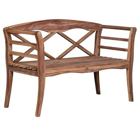 deVries Woodie Landhaus 2-Sitzerbank 130cm Teak