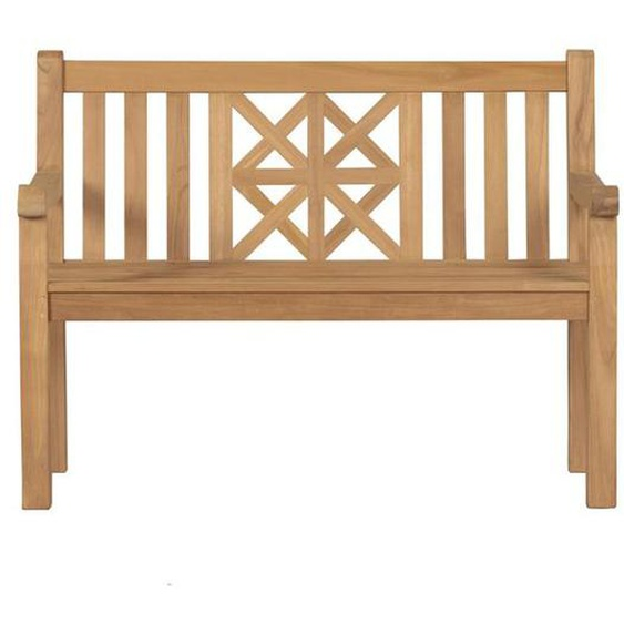 deVries Woodie Raute 2-Sitzerbank 150cm Teak