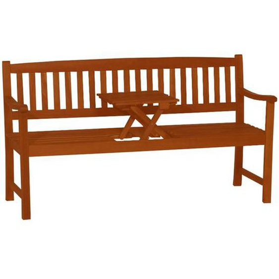 deVries Woodie Trend Butler 2-Sitzerbank 150cm Teak