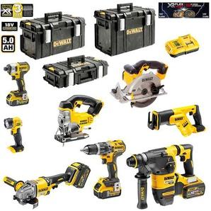 DeWALT Kit DCK-FP834BMP4 54V/18V (DCD796 + DCG414 + DCH333 + DCS387 + DCS391 + DCS331 + DCL040 + DCF887 + 2 x 5,0 Ah 18V + 2 x 6,0 Ah 54V/18V + DCB118 + DS150 + DS300 + DS400)