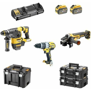 DeWALT Kit FVK395X2 54V/18V (DCH333 + DCG405 + DCD996 + 2 x 9,0 Ah + DCB132 + TSTAK VI + 2 x TSTAK II)