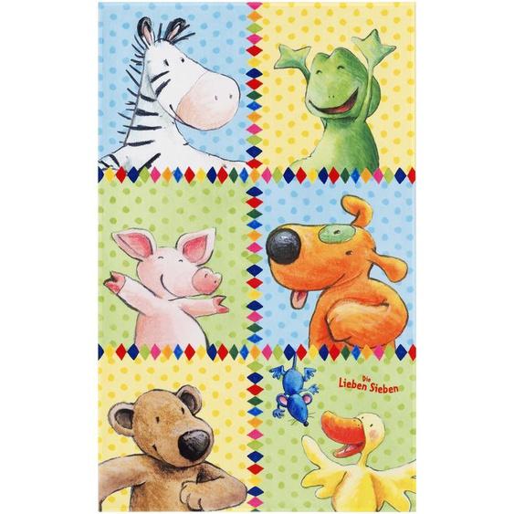 Die Lieben 7 Kinderteppich, Polyester 80 x 150 cm