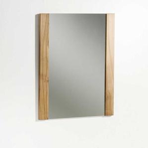 Dielenspiegel aus Kernbuche Massivholz 60 cm