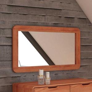 Dielenspiegel mit Holzrahmen modern