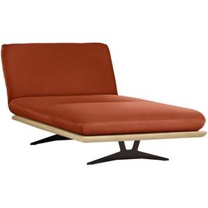 Dieter Knoll: Sofa, Orange, B/H/T 114 92 165-218