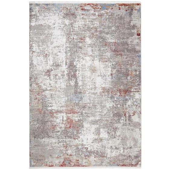 Dieter Knoll Vintage-Teppich 240/290 cm Mehrfarbig, Mehrfarbig , Textil , Abstraktes , 240 cm