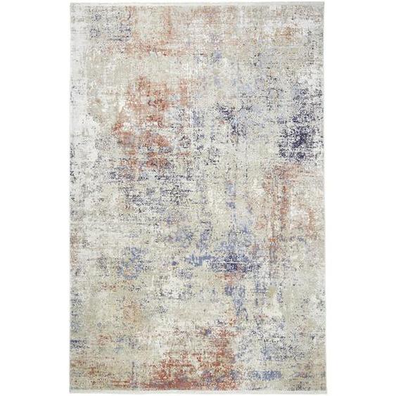 Dieter Knoll Vintage-Teppich 80/150 cm Mehrfarbig , Mehrfarbig , Textil , Abstraktes , 80 cm