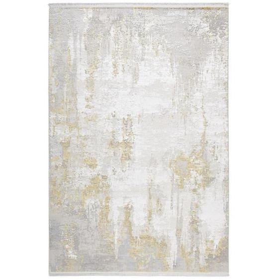 Dieter Knoll Vintage-Teppich 80/150 cm Beige , Textil , Abstraktes , 80x150 cm