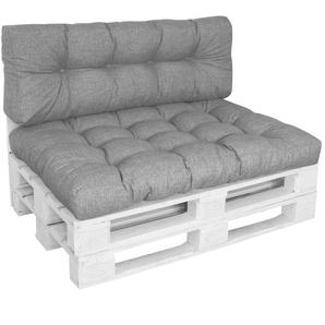 Diluma Palettenkissen Set Comfort Grau