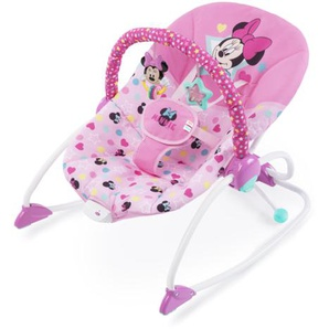 Disney baby MINNIE MOUSE Stars & Smiles Infant to Toddler Rocker™ Babywippe