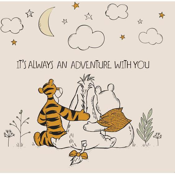 Disney Fototapete Vlies  Winnie Pooh - Freunde für immer