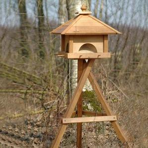 Dobar-Vogelhaus-Ständer - braun - Eiche -