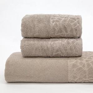 Döhler Handtuch Set »Stones 3-teilig« (3-tlg)