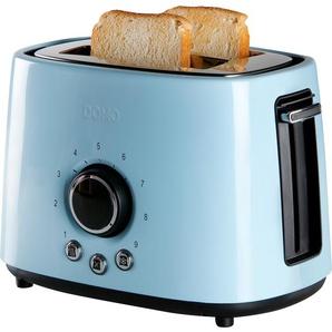 Domo Toaster Retro-Look DO953T blau
