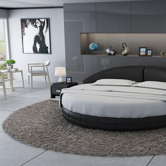 Doppel Bett Normandy Schwarz
