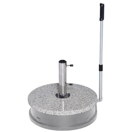 Doppler Rollensockel Easy Move 45kg rund mit Hubfunktion