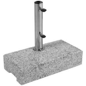 SONNENSCHIRMSTÄNDER Granit Beige, Grau