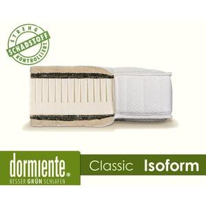 Dormiente Natural Classic Isoform Latex-Matratzen 80x200 cm fest Bezug 5-TC