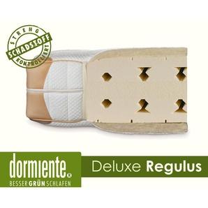 Dormiente Natural Deluxe Regulus Latex-Matratzen 140x200 cm medium Bezug 4 Female