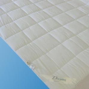 Dreams Matratzenauflage »Unterbett Superflausch«, 140x200 cm, Allergiker geeignet, weiß