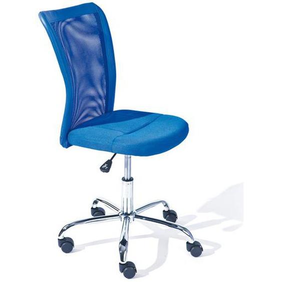 Drehstuhl für Kinderschreibtisch Blau