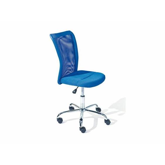 Drehstuhl Kinder Stuhl Schreibtischstuhl Bürostuhl Blau B-ware