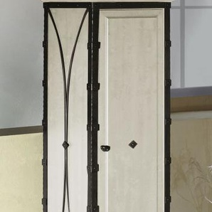 Drehtüren-Kleiderschrank Arica, rot, 1-türig - links angeschlagen