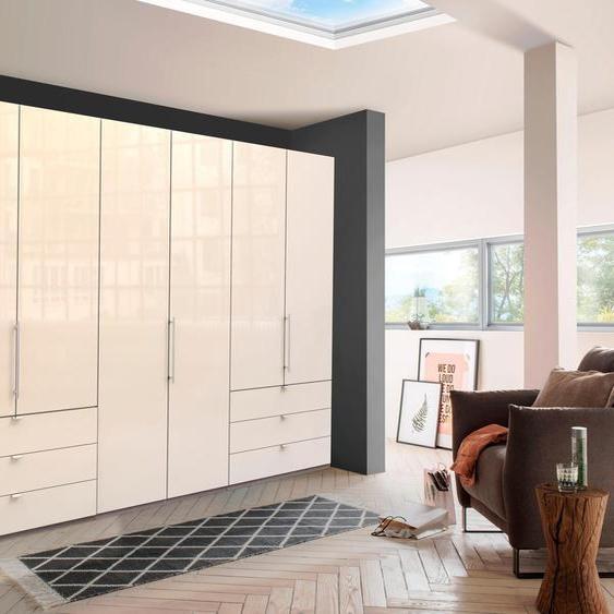 Drehtürenschrank, 300 x 216 x 58 BxHxT cm, beige »Loft«, WIEMANN