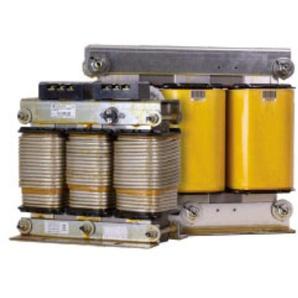 Dreiphasige Reaktionen für Abstoßungsfilter, Modell RZ-12,5-400, für Mundennetze, 11,2 x 18 x 19 cm, gelb (Referenz: P73117)