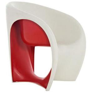 Driade - MT1 Armlehnstuhl - Sandweiß/Rot - outdoor