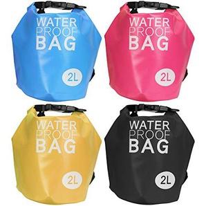 Drybag 2L Wasserdicht Pack Tasche Familie Spiel Water Proof Tasche Softcase (farblich sortiert)