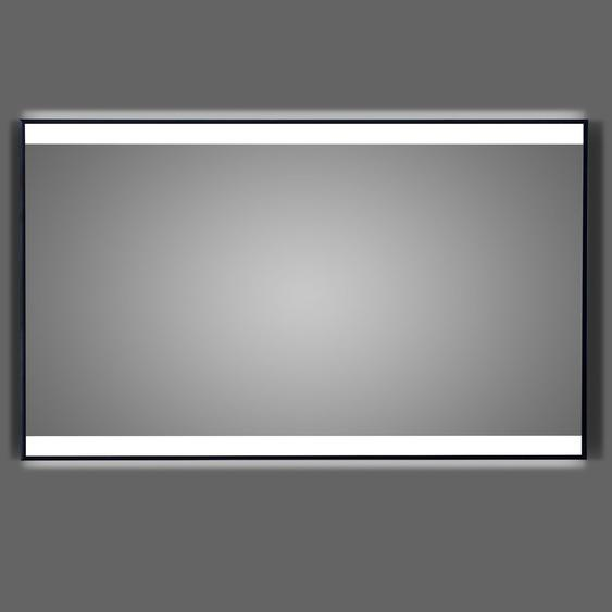 DSK Design LED-Lichtspiegel Black Stark 120 cm x 70 cm