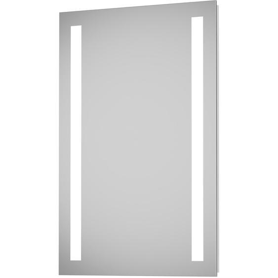 DSK Design LED-Lichtspiegel Silver Dream 50 cm x 70 cm