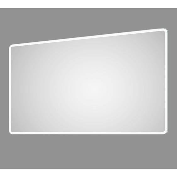DSK Design LED-Lichtspiegel Silver Luna 120 cm x 70 cm
