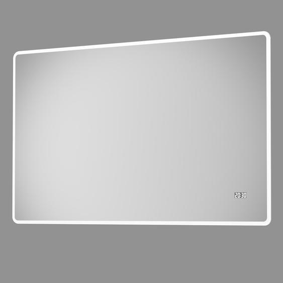 DSK Design LED-Lichtspiegel Silver Sintra 120 cm x 70 cm