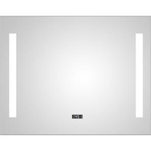 Design Lichtspiegel Silver Elegance 80 x 60 cm