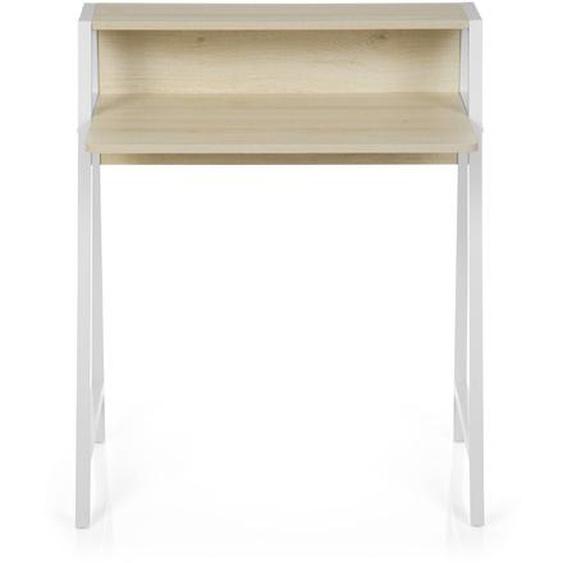 DUMONT | 78x50 5 - Schreibtisch Ahorn / Weiß