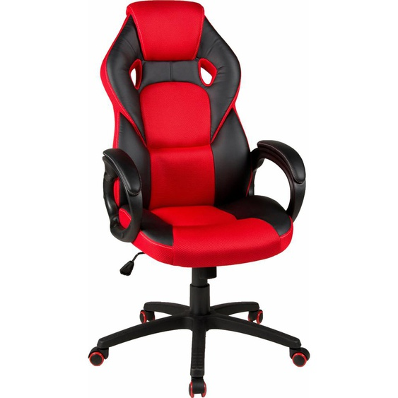 Duo Collection Gaming Chair Samu, mit modernem Netzstoffbezug Einheitsgröße schwarz Gamingstühle Bürostühle Stühle Sitzbänke