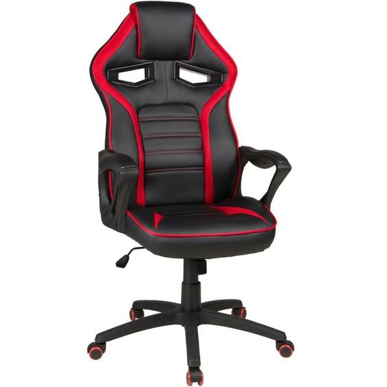 Duo Collection Gaming Chair Splash Einheitsgröße rot Gamingstühle Bürostühle Stühle Sitzbänke